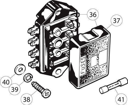 triumph tr6 fuse box