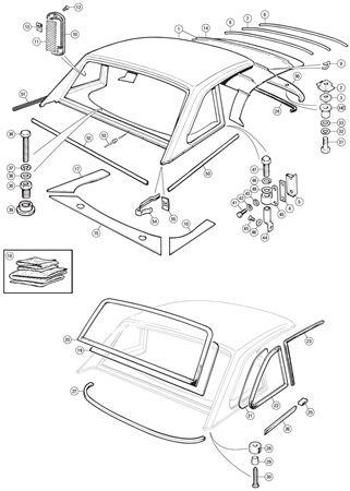 Triumph TR6 Factory Hard Top