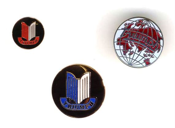 Triumph TR6 Enamel Pin Badges