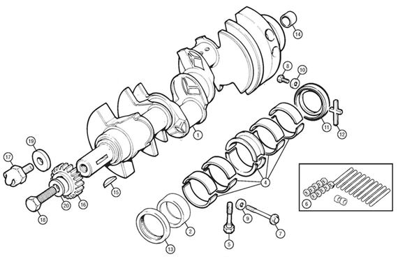Rover V8 Crankshaft