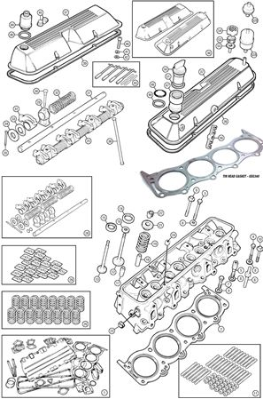 Rover V8 Valve Guides and Springs