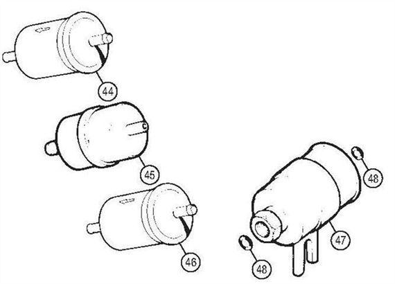Rover V8 Fuel Filters
