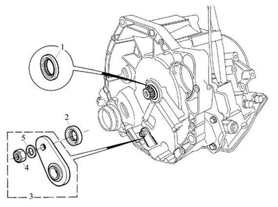 Rover 400/45/MG ZS Selector Mechanism - Internal CVT - 1800 Petrol Auto