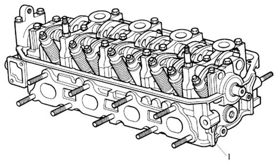 Rover 200/400 to 95 General Assembly - Cylinder Head - 1600 Petrol 16V SOHC