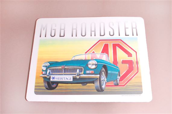 Mouse Mat - MGB Roadster - Green - HMP113002