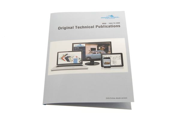 USB ebook - Original Technical Publications Mini 1959-2000