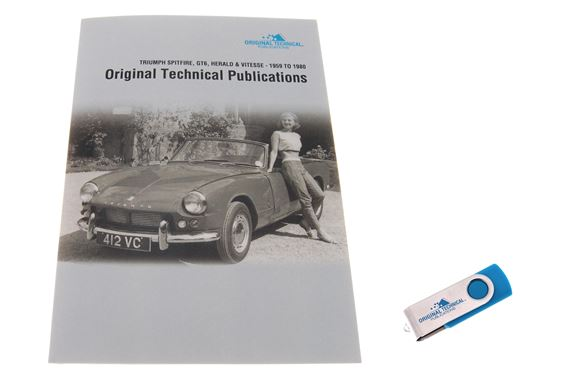 usb ebook original technical publications triumph spitfire gt6 rh rimmerbros com