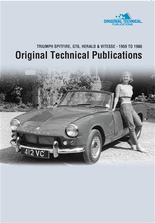 dvd original technical publications triumph spitfire gt6 herald vitesse 1959 1980 at www. Black Bedroom Furniture Sets. Home Design Ideas