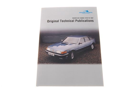 USB ebook - Original Technical Publications - Rover SD1 Saloons 1976-1987