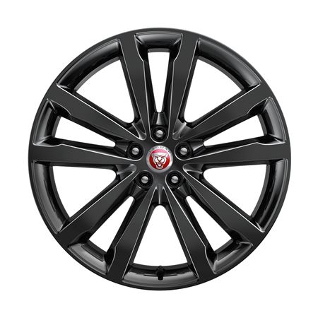 E-Pace Alloy Wheels - 20 in 5 Split Spoke - Style 5051 - with Gloss Black Finish - J9C6023 - Genuine Jaguar