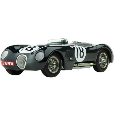 Jaguar C-Type Le Mans Winner 1:43 Scale Die Cast Model - Jaguar Collection