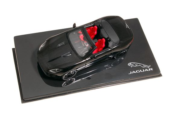 Jaguar F-Type Diecast V8 Ultimate Black Model - JDCAFTV8B - Genuine