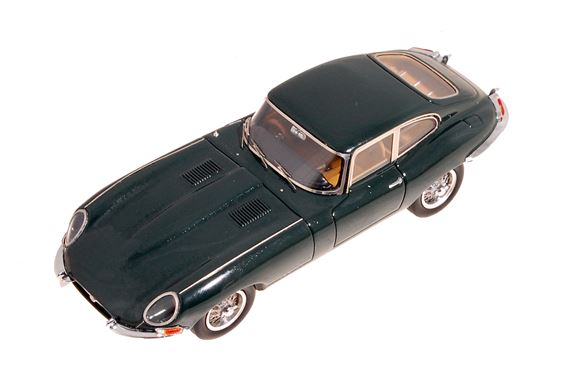 Jaguar E Type Coupe - 1:43 Scale Die Cast Model - Racing Green