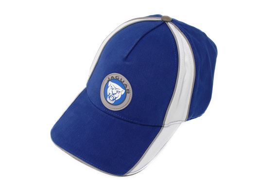 Jaguar Growler Graphic Cap Blue - JDCH846BLA - Genuine