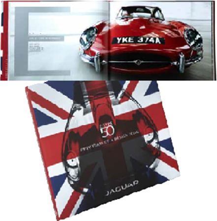 E-Type 50th Anniversary Book - Jaguar Collection