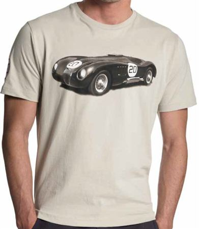 Racing T Shirt - C Type - Jaguar Collection