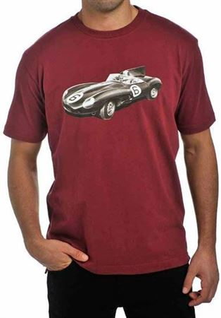 Racing T Shirt - D Type - Jaguar Collection
