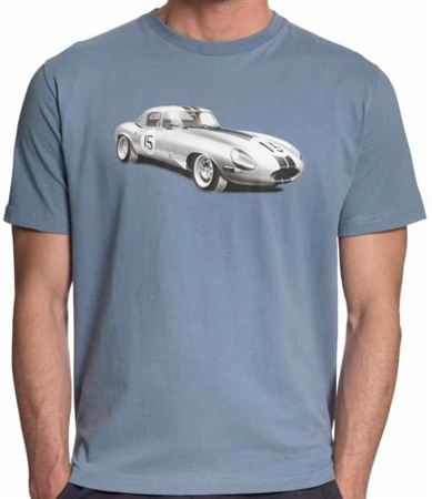 Racing T Shirt - E Type - Jaguar Collection