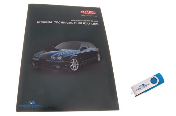 USB ebook - Original Technical Publications Jaguar S-Type 1998 to 2008