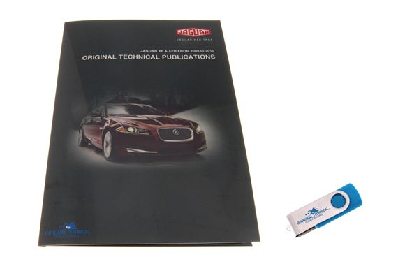 USB ebook - Original Technical Publications Jaguar XF and XFR 2008 to 2010