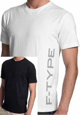 Mens F-Type Crew Neck T Shirt - Jaguar Collection