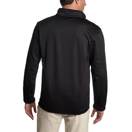 Mens Soft Shell Jacket - Black - Jaguar Collection