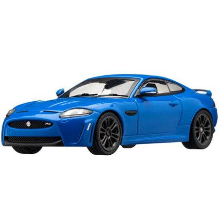 Jaguar XKR-S Die Cast Scale Model 1:43 - French Racing Blue