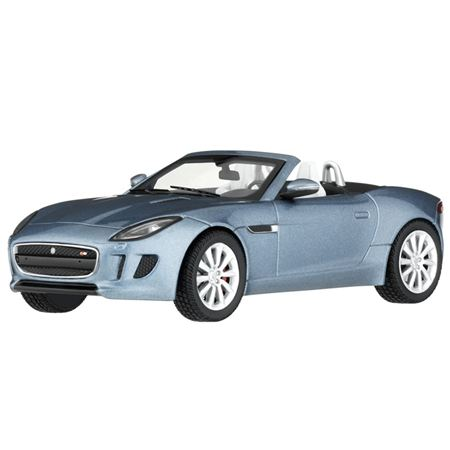 Jaguar F-TYPE S Die Cast Scale Model - Satellite Grey