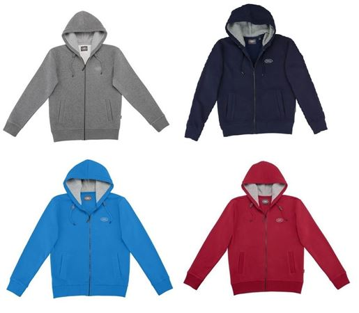 Mens Land Rover Hooded Top - Genuine Land Rover