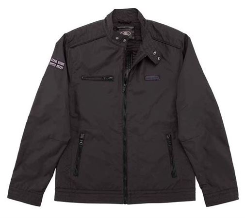 Mens Driving Jacket - Black - Genuine Land Rover