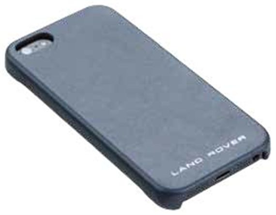Leather iPhone 5 Cover - Navy - Genuine Land Rover