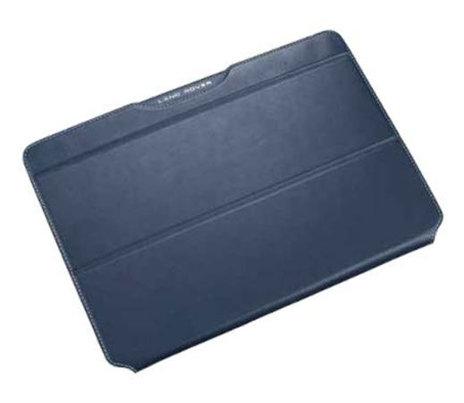 Leather iPad Air 2 Case - Navy - Genuine Land Rover