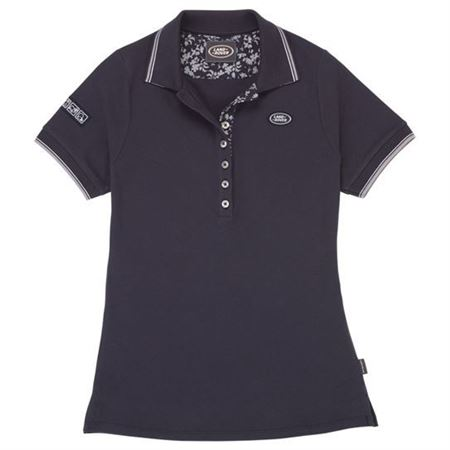 Ladies Land Rover Logo Polo Shirt - Genuine
