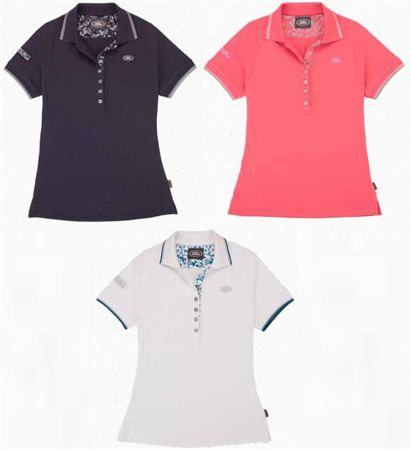Ladies Land Rover Logo Polo Shirt - Genuine Land Rover
