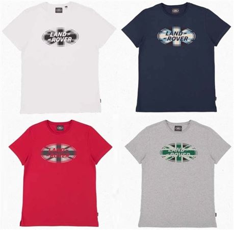 Mens Oval Logo T-Shirt - Genuine Land Rover