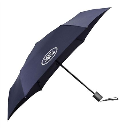 Land Rover Pocket Sized Automatic Umbrella Navy - LEUM282NVA - Genuine