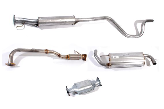 Exhaust System including CAT - LF1004MS - Genuine - price shown includes exchange surcharge