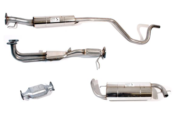 SS Exhaust System including CAT - LF1004SS