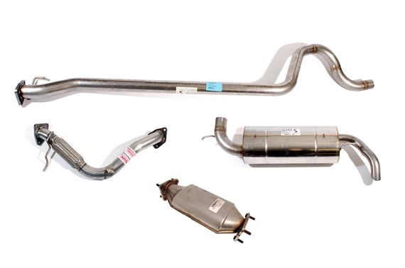 SS Exhaust System including CAT - LF1005SS