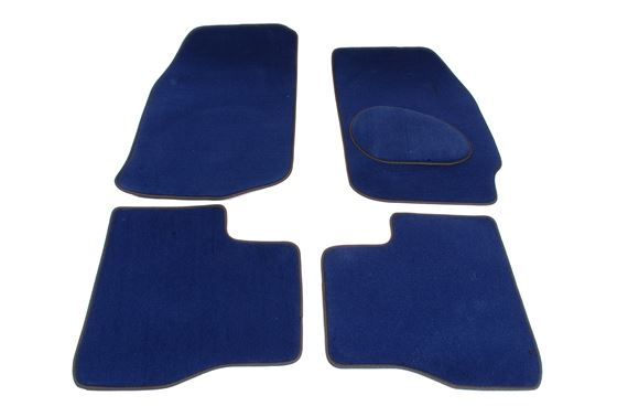 Carpet Mat Set (Front & Rear 4 pc) Blue RHD - LF1020BLUE - Aftermarket