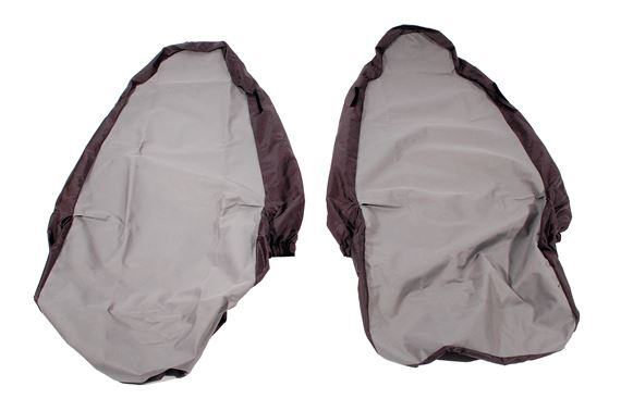 Waterproof Seat Covers - Front pair 3 Door - Light Grey - LF1055GREY - Aftermarket