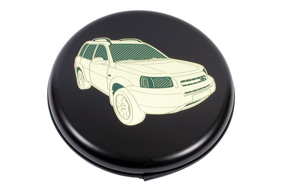 Rigid Spare Wheel Cover Illustrated - 16 wheel - LF105916 - Bearmach