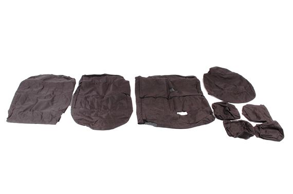 Waterproof Seat Covers 2nd Row Set Black - LF1098BLACKBPREAR - Britpart