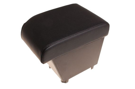 Cubby Box Armrest Black Leather RHD - LF1102BLACKBP - Britpart