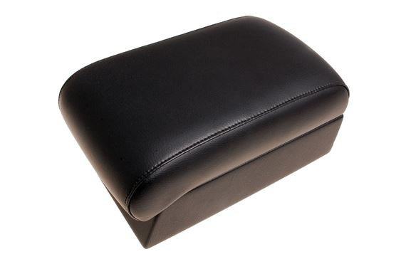 Adjustable Armrest - Black Real Leather - Britpart DA5117
