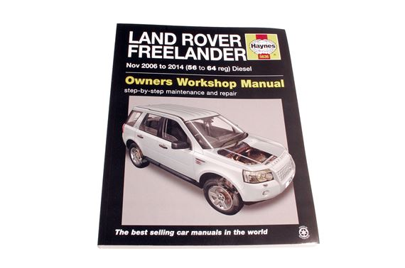 Haynes Workshop Manual - Freelander - Diesel - 2006 on (Freelander 2) - LF1121