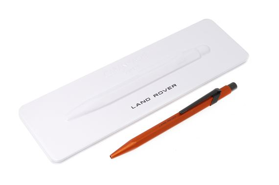 Land Rover and Caran d'Ache Ballpoint Pen Orange - LFPN369ORA - Genuine