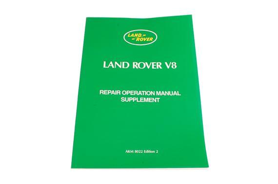 land rover series iii v8 repair operation manual supplement rimmer rh rimmerbros com Land Rover Range Rover Land Rover Range Rover