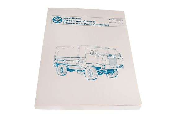 British Leyland Parts Books and Workshop Manuals - Land Rover