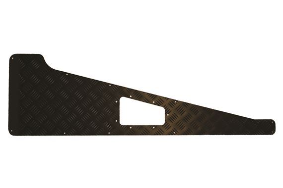 Chequer Wing Tops - Long - 2mm with Vent Hole - Black - Bearmach BA 113B